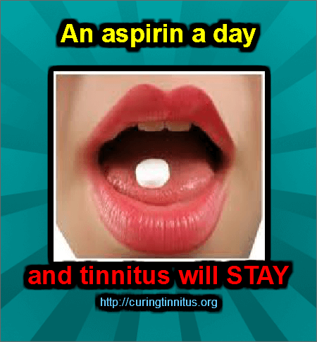 aspirin and tinnitus